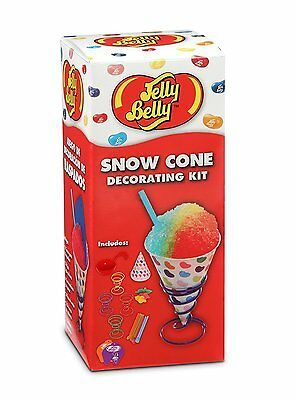 NEW Jelly Belly Snow Cone Decorating Kit Summer Party Fun