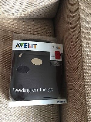 Avent Hot Or Cold Thermal bag Feeding BOTTLE WARMER Go Travel  Last Up To 4hrs
