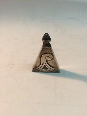 Vintage Mexico Sterling Perfume Bottle