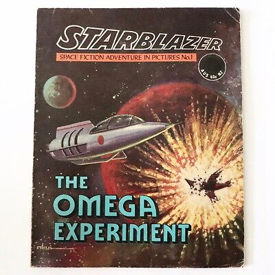 Very Nice Vintage 1970's Comic - Starblazer Issue No.1 The Omega Experiment