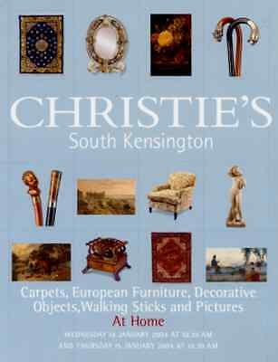 Christie's Carpets, European Furniture, Decorative Objects, Walking Sticks +