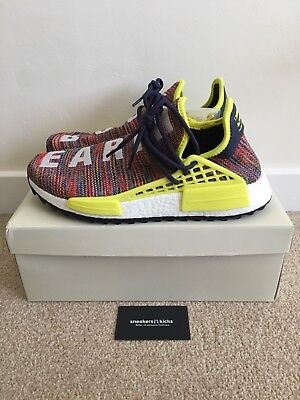 hot sale online 7a0e0 950b4 ADIDAS PHARRELL HUHommes Race HU NMD Trail Multi Noble Noble Noble Ink  Jaune AC188 bb7141
