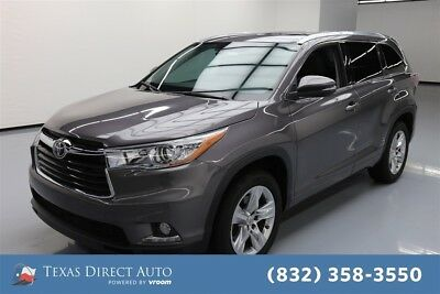 Toyota Highlander Limited Texas Direct Auto 2015 Limited Used 3.5L V6 24V Automatic FWD SUV