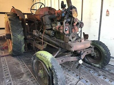NUFFIELD tractor DM4