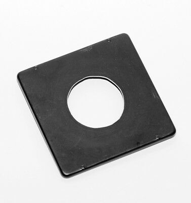 Speed/Crown 4X5 Graphic Lens Board 42mm Opening For #1 Shutter  Free Shipping!