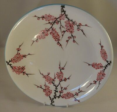 "Antique George Jones & Sons Apple Cherry Blossom 9 3/4"" Dinner Plate c1900 VGC"