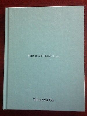 NEW TIFFANY & CO. 2017 This is a Tiffany Ring Jewelry Catalogue Book Chinese