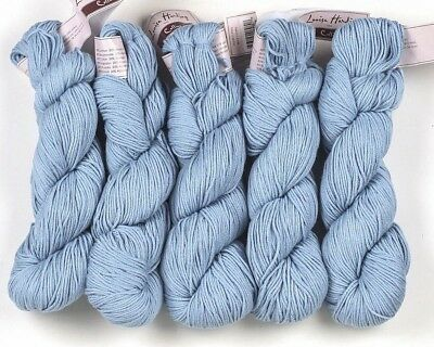 5 x 100g Pale Blue Louisa Harding Colline-80% Cotton,20% Alpaca sh 04