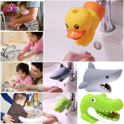 Kid Child Toddler Water Tap Faucet Extender Washing Hands Bathroom Sink Handle