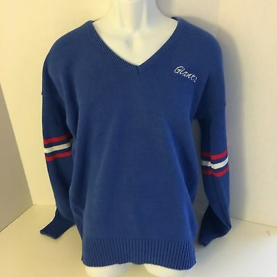 GIANTS VTG 80s SWEATER XL AUTHENTIC NFL New York True Vintage blue EXTRA LARGE