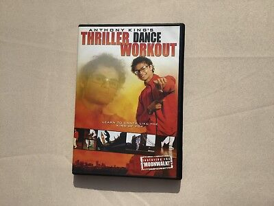 ANTHONY KING's THRILLER DANCE WORKOUT DVD+MICHAEL JACKSON KING OF POP SONGS QUIZ