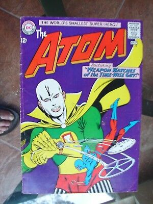 The Atom #13 (June/Jly 1964) White Pages No Problems
