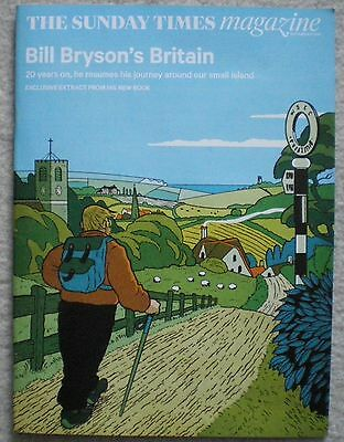 Bill Bryson – Sunday Times Magazine – 27 September 2015