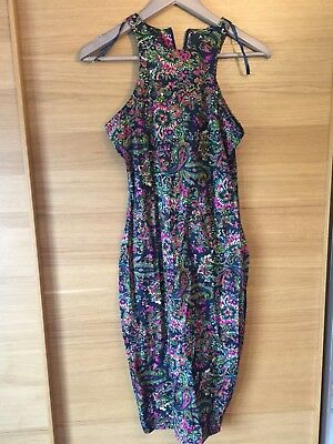 16994f8a64ae Gorgeous Floral Fitted AX Paris Dress, Size 10, Preowned, Excellent  Condition