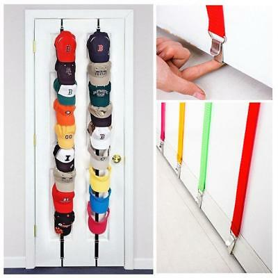 Baseball Cap Rack Hat Holder Rack Home Organizer Supply Door Closet Hanger
