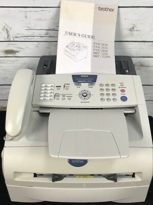 Brother Intellifax FAX-2820 Laser Printer Machine Phone System Pg Ct 2545 DL 75%