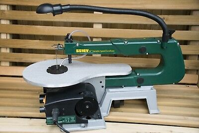 Record Power SS16v Variable Speed Scrollsaw With Extra Blades