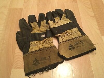 Heavy Duty Rigger Work Gloves - Used - Size 10 - L / XL