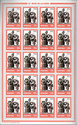 Rwanda Stamps 8 Complete Sheets Norman Rockwell Saturday Evening Post  Stamps