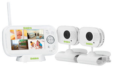 "Uniden Bw3102R Remote Dock View 4.3"" Twin Camera Digital Wireless Baby Monitor"