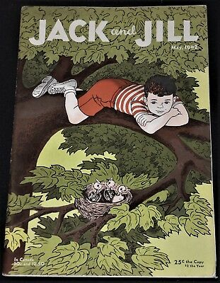 "Vintage May 1942 ""Jack and Jill"" Magazine for Children"