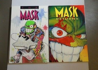 The Mask & Returns NM- 9.0-9.4 TPB Graphic Novel Dark Horse 1st Print Arcudi