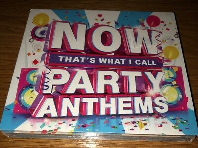 Now That's What I Call Party Anthems - Various Artists (Album) [CD]