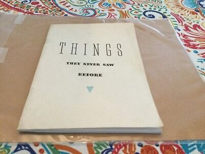 Things They Never Saw Before Hudson Firsts Booklet