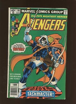 Avengers 196 FN 5.5 * 1 Book Lot * 1st Full Taskmaster! George Perez!