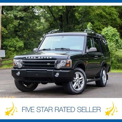 Land Rover Discovery SE Serviced Loaded Series II Garaged CARFAX 2003 Land Rover Discovery SE Serviced Loaded Series II Garaged CARFAX