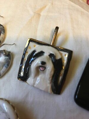 Bearded Collie Jewelry Lot