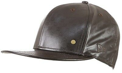 Special Blend Onyx Onyd Leather Hat Cap Gift Set Size 7-1/2 + Keychain Wallet
