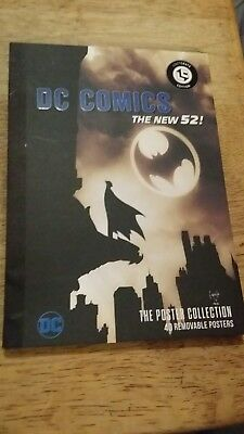 DC COMICS The New 52 Poster Collection 40 Removable Posters  Lootcrate Exclusive