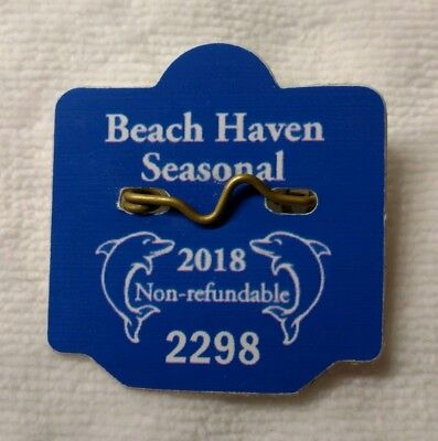 2018 Beach Haven Seasonal Beach Badge