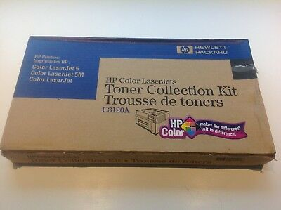 NEW HP Color LaserJet 5/5M Printer Toner Collection Kit PN#  C3120A