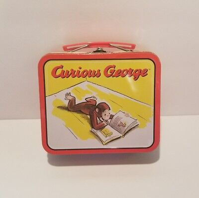 Curious George Tin Lunch Box 1998 Collectible
