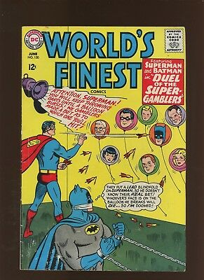 World's Finest Comics 150 VG+ 4.5 * 1 Book Lot * Super-Gamble with Doom!