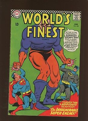 World's Finest Comics 158 VF 7.5 * 1 Book Lot * Superman! Batman! Curt Swan!