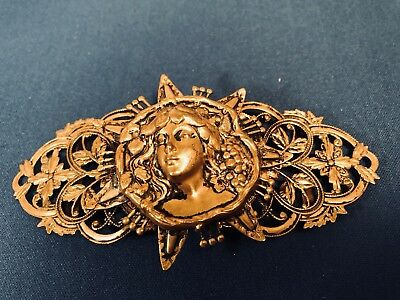 Antique Women's Belt Buckle From The 1920S Nice