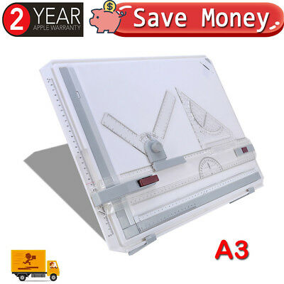 Quality A3 Drawing Board Table Art Architecture Parallel Motion Angle Adjustable