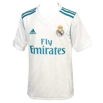 football jersey Adidas Real football jersey jr 17/18home White 45615 - New