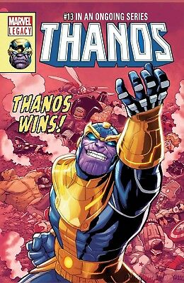 Thanos #13 1St Cosmic Ghost Rider Donny Cates Lenticular Variant Nm