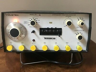WaveTek 171 Synthesizer / Function Generator New old stock