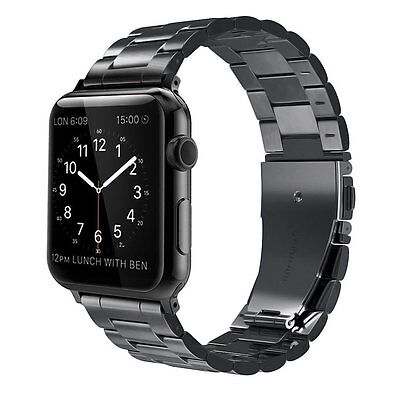 For Apple Watch Series 4 (44mm) 2018 Metal Replacement Strap Bracelet Wrist Band