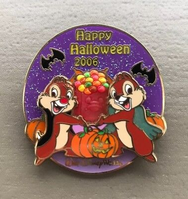 Disney WDW Happy Halloween Party 2006, Chip & Dale 3D LE Pin