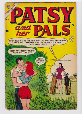 PATSY AND HER PALS # 4 1953 Atlas P. WALKER Hedy Wolfe MORRIS WEISS  VG- 3.5 JVJ