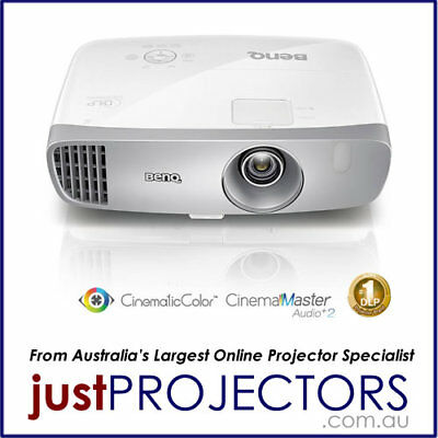 BenQ W1120 FULL HD Home Projector from Just Projectors. 2 Year Aussie Warranty
