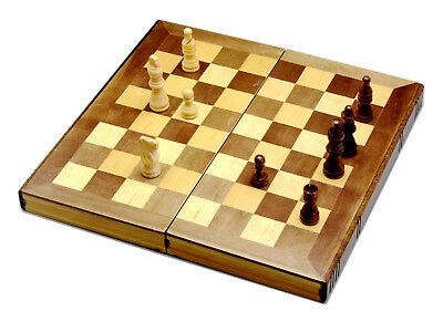 3in1 Elegance Wooden Chess And Checker Board Set Backgammon Game 03 0.5k