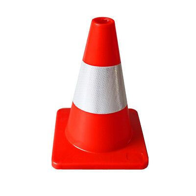 300m Traffic Safety Cone with Reflective Collar Plastic Heavy Duty for Roadworks