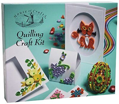 House of Crafts Quilling Craft Kit